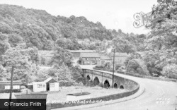 The Bridge And Village c.1955, Whatstandwell