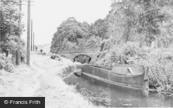 The Canal c.1955, Whatstandwell