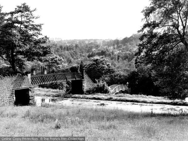 Whatstandwell, the Station c1955