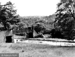 The Station c.1955, Whatstandwell