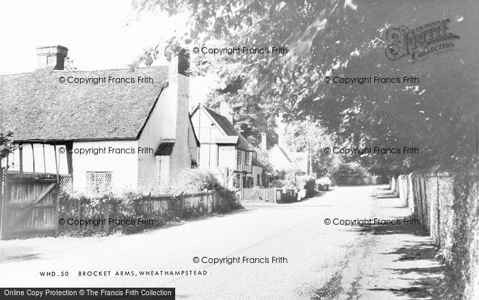 Photo of Wheathampstead, Brocket Arms c.1965