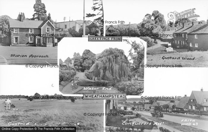 Photo of Wheathampstead, Composite c.1965