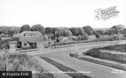 Wheathampstead, From Wick Avenue c.1965