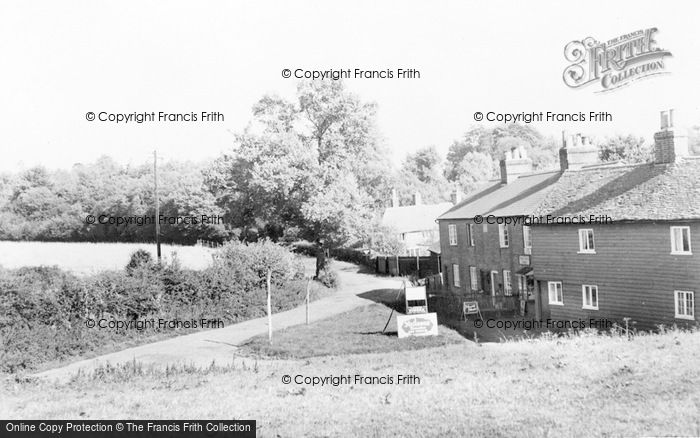 Photo of Wheathampstead, Gustard Wood c.1960