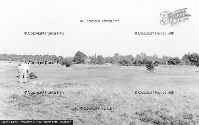 Photo of Wheathampstead, Gustard Wood Golf Course c.1960