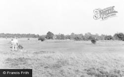 Wheathampstead, Gustard Wood Golf Course c.1960