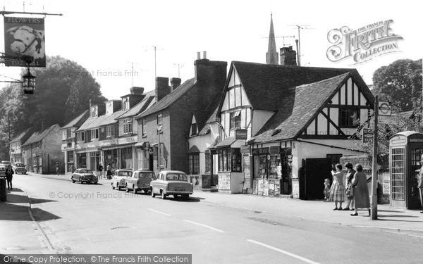 Photo of Wheathampstead, High Street 1961