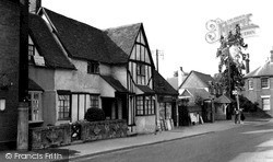 Wheathampstead, High Street c.1961