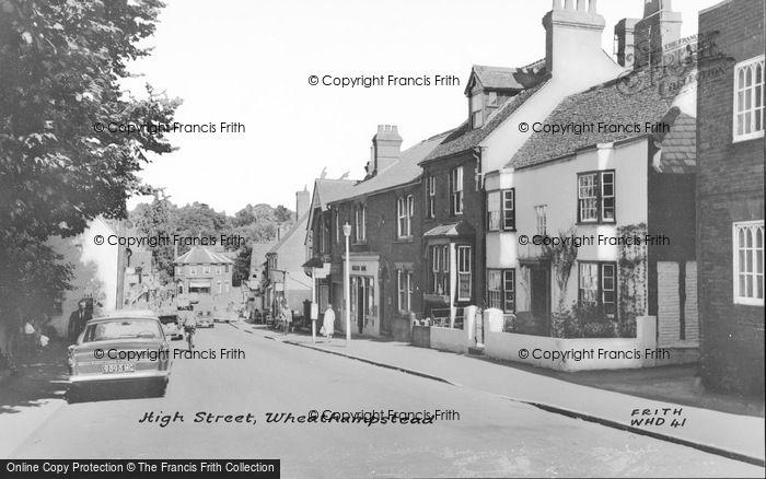 Photo of Wheathampstead, High Street c.1965