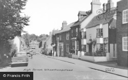 Wheathampstead, High Street c.1965