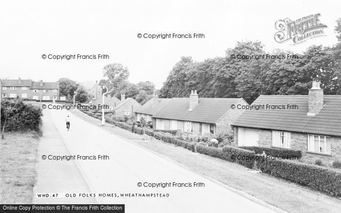 Photo of Wheathampstead, Old Folks Homes c.1965