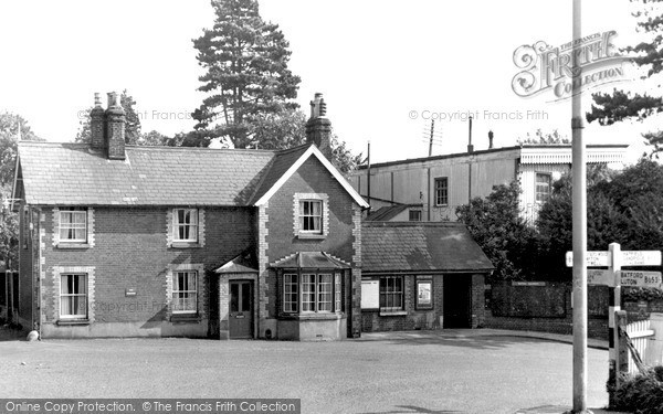 Photo of Wheathampstead, Railway Station c.1960