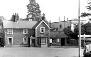 Wheathampstead, Railway Station c1960