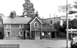 Wheathampstead, Railway Station c.1960