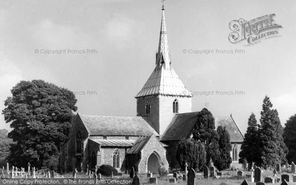 Photo of Wheathampstead, St Helen's Church c.1960
