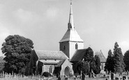 Wheathampstead, Parish Church c1960