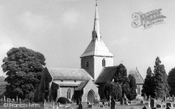 Wheathampstead, St Helen's Church c.1960