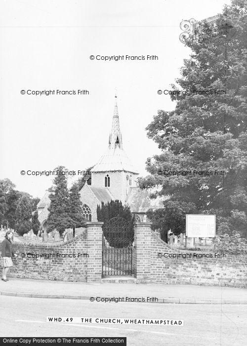 Photo of Wheathampstead, St Helen's Church c.1965