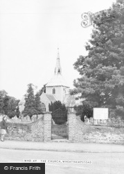 Wheathampstead, St Helen's Church c.1965