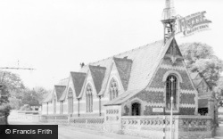 Wheathampstead, St Helen's Church School c.1960