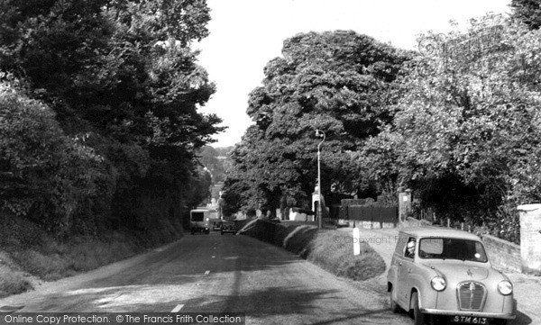 Photo of Wheathampstead, the Hill c1960