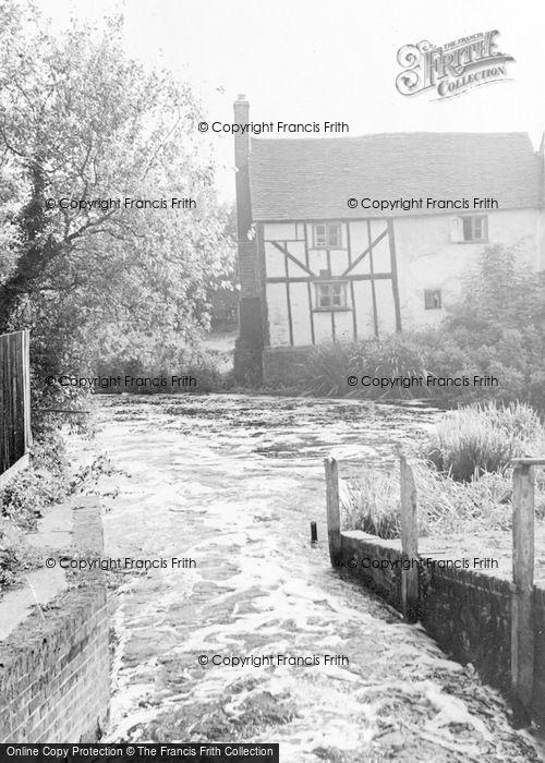 Photo of Wheathampstead, The River Lea c.1960