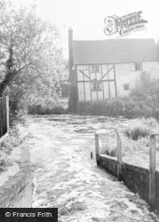 Wheathampstead, The River Lea c.1960