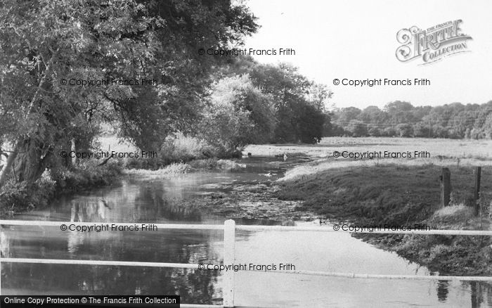 Photo of Wheathampstead, The River Lea, Sheepcote Lane c.1960