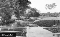 Wheathampstead, The River Lea, Sheepcote Lane c.1960