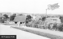Wheathampstead, The View From Wick Avenue c.1960