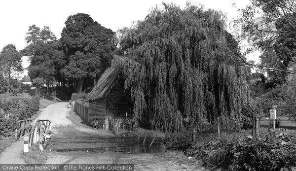 Photo of Wheathampstead, Water End c.1960
