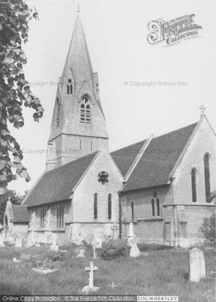 Photo of Wheatley, Church Of St Mary The Virgin c.1960