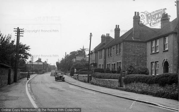 Photo of Wheatley, Church Road c.1955