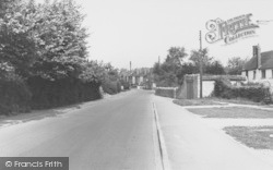 Crown Road c.1960, Wheatley