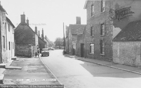 Photo of Wheatley, High Street c.1960