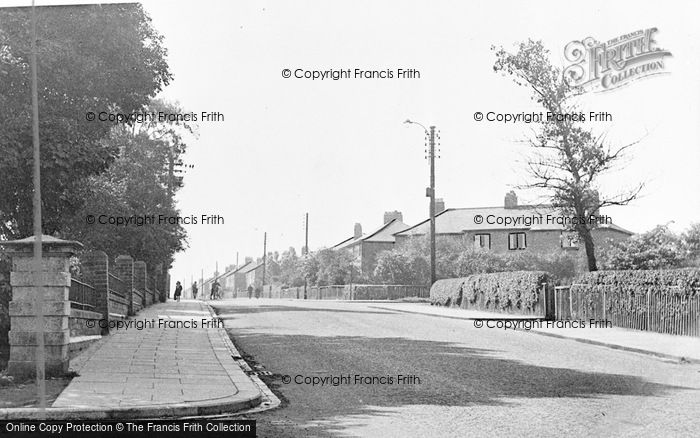 Photo of Wheatley Hill, Cemetery Road c.1950