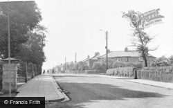 Wheatley Hill, Cemetery Road c.1950