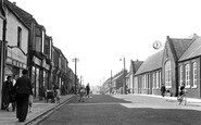 Wheatley Hill, Front Street c1951