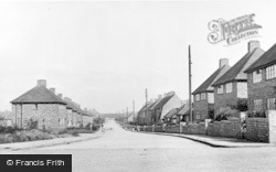 Wheatley Hill, Peter Lee Cottages c.1950