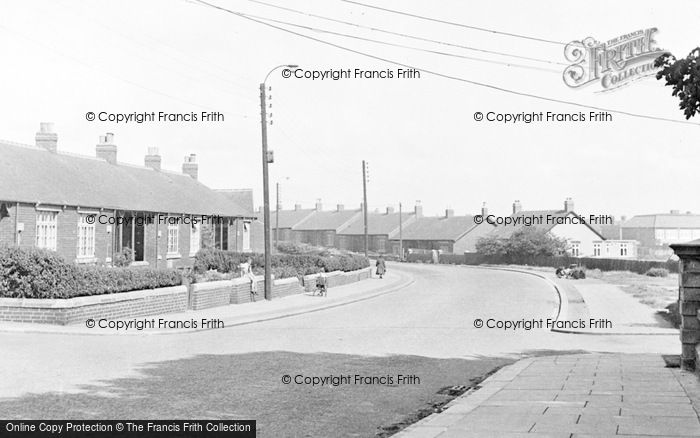Photo of Wheatley Hill, The Aged Miners' Homes c.1950