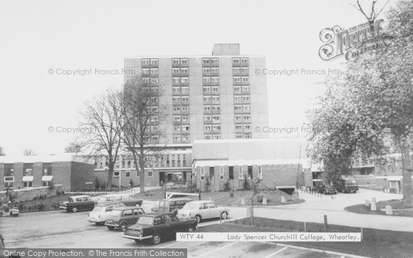 Photo of Wheatley, Lady Spencer Churchill College c1965