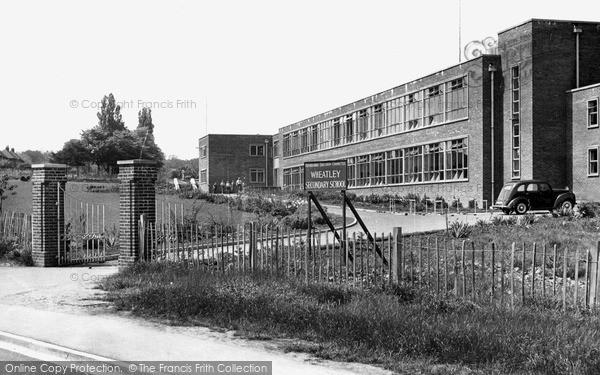 Photo of Wheatley, Secondary School c.1955