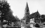 Wheatley, St Mary the Virgin Church c1960