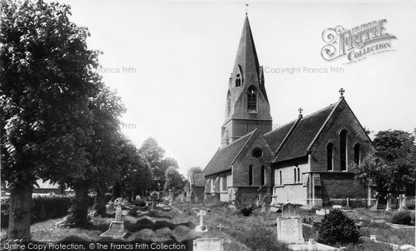 Photo of Wheatley, St Mary the Virgin Church c1960