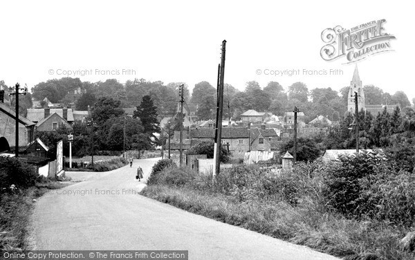 Photo of Wheatley, Station Road c.1955