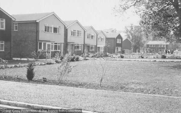 Photo of Wheatley, The New Estate c.1960