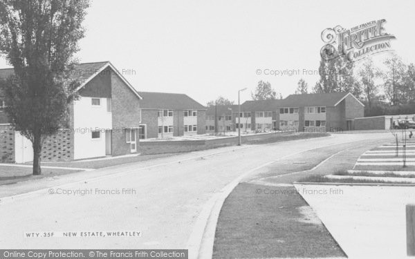 Photo of Wheatley, The New Estate c.1960