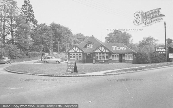 Photo of Wheatley, The Triangle Cafe c.1955