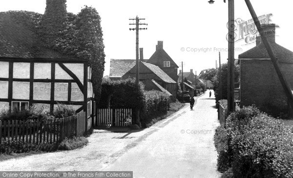 Photo of Wheaton Aston, Long Street c.1952