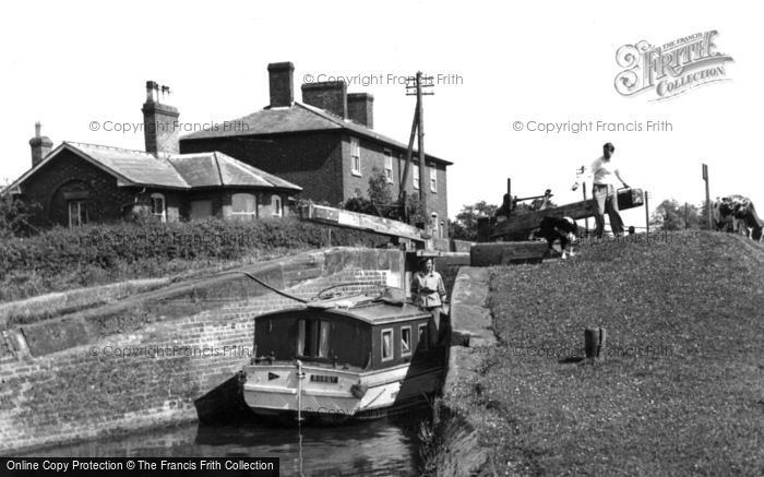 Photo of Wheaton Aston, The Lock 1952